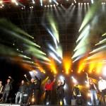 Italia Loves Emilia benefit show in Reggio Emilia, Italy
